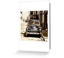 De Soto Blues  Greeting Card