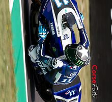 Ben Spies in Mugello iPhone Case by corsefoto