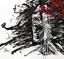 """""""The Pain of Cluster Headache"""" by Agnes-Cecile by ArteCluster"""