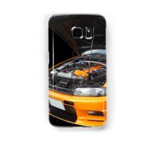 Orange Skyline Samsung Galaxy Case/Skin