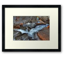 Ribbon creek III Framed Print