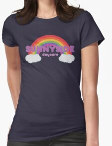 Sunnyside Daycare Womens Fitted T-Shirt