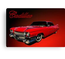 1959 Cadillac Low Rider Canvas Print