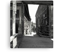 """Wild East Ghost Town"" Canvas Print"