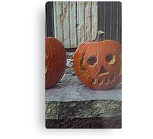 Petrified Pumpkin Metal Print