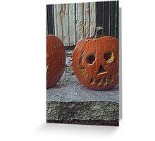 Petrified Pumpkin Greeting Card