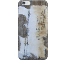 It's fun to rail against anything iPhone Case/Skin