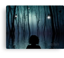 I'll Be Swimming Home Canvas Print
