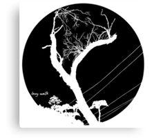 Levy Sky Canvas Print