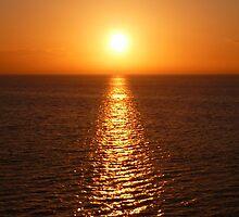 Ocean Sunset - iPhone Case by Lucinda Walter