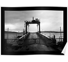 Car Barge Gates Poster
