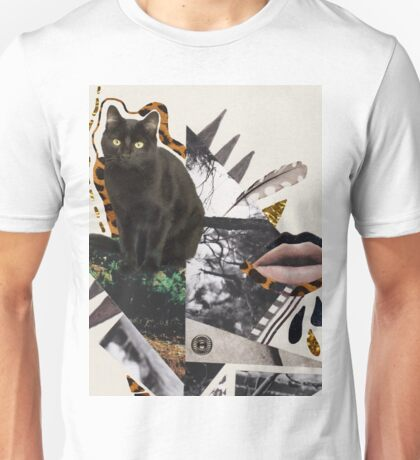 Ayahuasca  Cat collage  T-Shirt