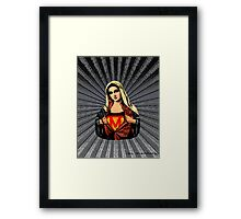 Supermary Street Art Framed Print