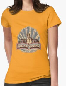 New York City iPhone Cases Womens Fitted T-Shirt