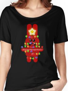 CHRISTMAS RABBITT Women's Relaxed Fit T-Shirt