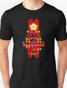 CHRISTMAS RABBITT Unisex T-Shirt
