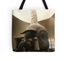 Haida Sculpture- Killer Whale Tote Bag
