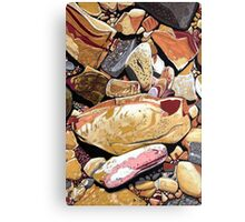 Rocks from the Garden of Eden Canvas Print