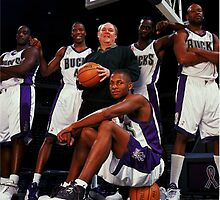 Ray Allen Milwaukee Bucks by BIGDREAMS001