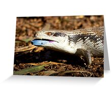australia reptile Greeting Card