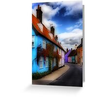 Bridge Street Bungay Greeting Card