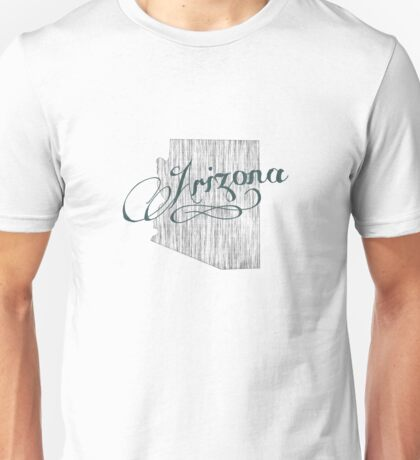 Arizona State Typography Unisex T-Shirt