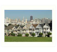 The Painted Ladies - San Francisco Art Print