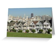 The Painted Ladies - San Francisco Greeting Card