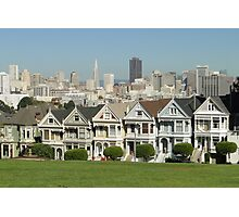 The Painted Ladies - San Francisco Photographic Print