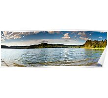 """An Afternoon at Lake Baroon"" ∞ Lake Baroon, QLD - Australia Poster"