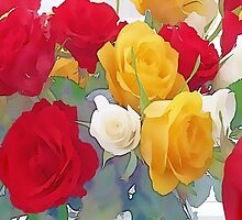 Roses by OlaG