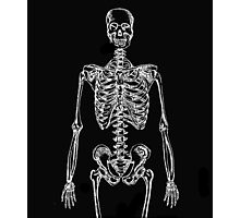 Skeleton Bones Photographic Print