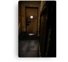 gaol cell Canvas Print