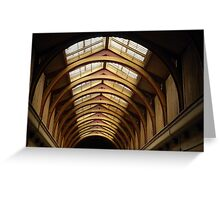 gaol roof Greeting Card