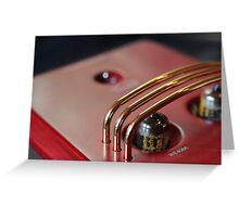 Valve Amplifier Greeting Card