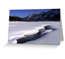 Winter Scene Germany Greeting Card