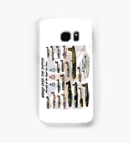 Wings over the Empire  Samsung Galaxy Case/Skin