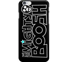 The Mighty Boosh – White Stencilled Writing & Mask iPhone Case/Skin