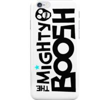 The Mighty Boosh – Black Writing & Mask iPhone Case/Skin