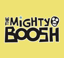 The Mighty Boosh – Black Writing & Mask One Piece - Short Sleeve