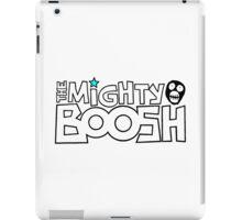 The Mighty Boosh – Black Stencilled Writing & Mask iPad Case/Skin