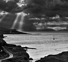 Storm Light on North Uist 03 - Isle of Skye, Scotland by Simon Lupton