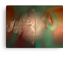 GENETIC FOOTPRINTS LEFT IN ART Canvas Print
