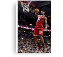 Lebron James Miami Heat Canvas Print