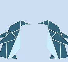 Two Penguins Illustration by Craig McEwan