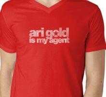 Ari Gold is my Agent (White) Mens V-Neck T-Shirt