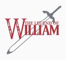 The Legend of William Kids Clothes