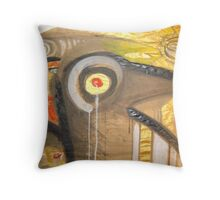 red shine 11 Throw Pillow