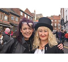 The Goth Weekend at Whitby, Oct 2011. 19 Photographic Print