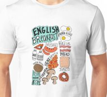 English Breakfast Unisex T-Shirt